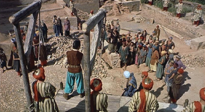 """Instead of a daily flogging, prisoners were instead made to listen to Sinbad practice his """"friends, romans, countrymen"""" speech until someone screamed for mercy."""