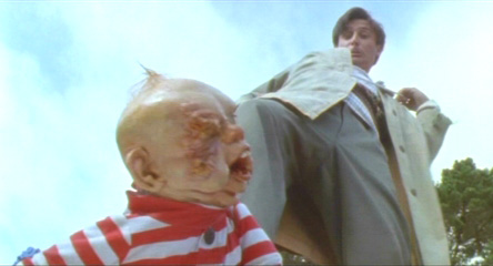 The rumored trampling scene cut from Baby Geniuses.