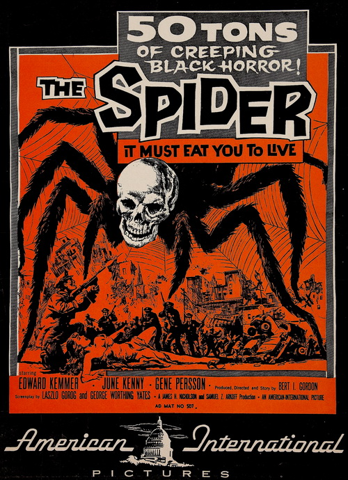 Image result for earth vs the spider 1958