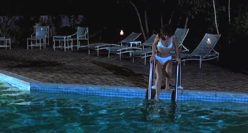 """Screw those HOA regulations prohibiting swimming at night."""