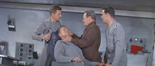 """""""Listen very carefully, Captain. You're going to tell us where you hid the booze and porn videos or Mike here is gonna use this laser scalpel to trim your pubic hairs…and you know how jittery he can get."""""""