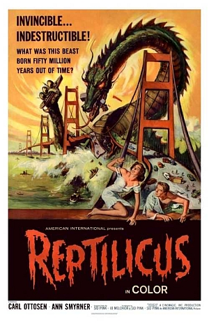 a summary and review of the film reptilicus written and directed by sidney pink Original 11x14-inch us lobby card was produced to promote the 1961 aip / danish sci-fi / dinosaur film, reptilicus, which  here to flag it for review.